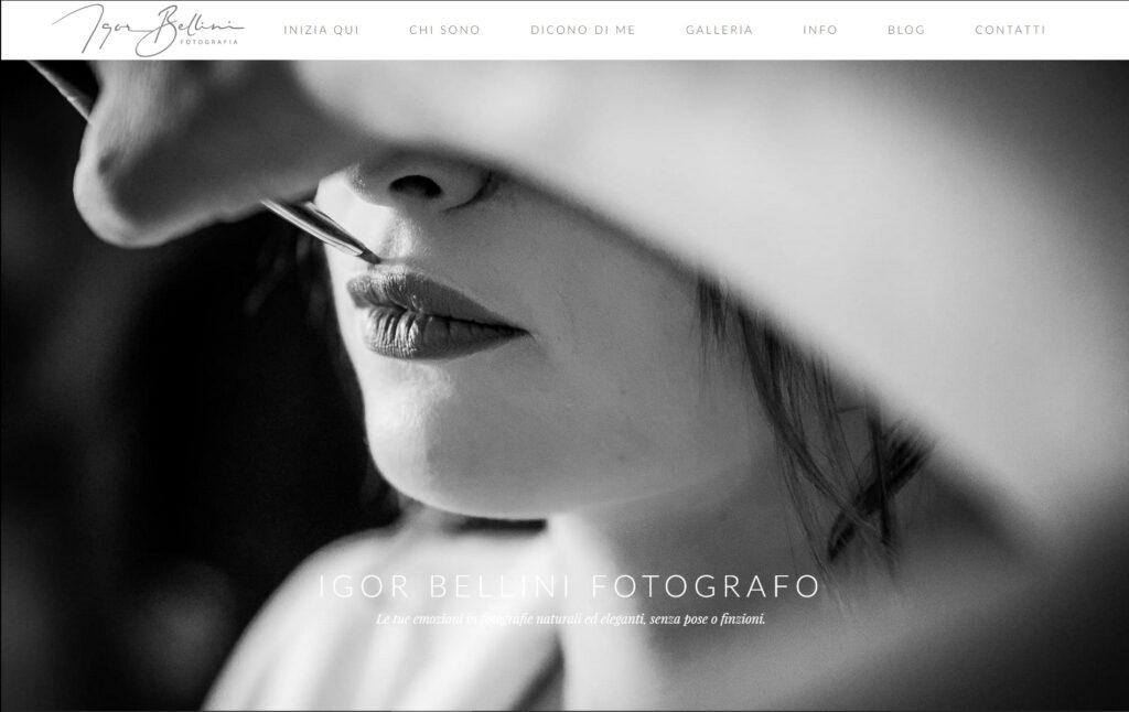 esempio di sito web belliniphotoart_it