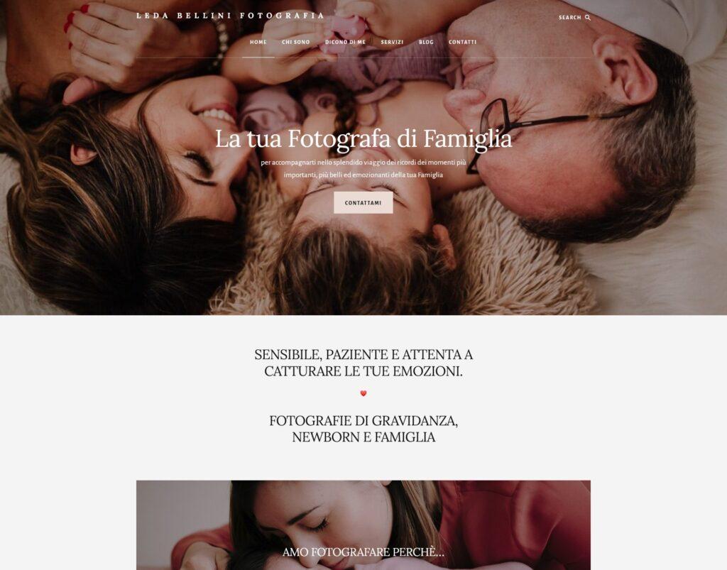 esempi siti internet realizzati ledabellini_it